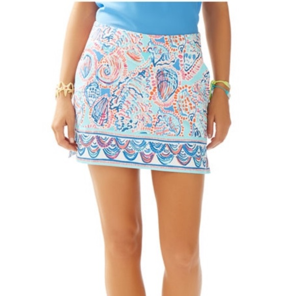 Lilly Pulitzer Dresses & Skirts - Lilly Pulitzer Marigold Skort Shell Me About It